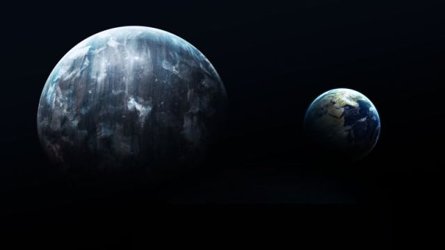 Planeta x y tierra